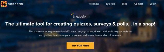 Engageform_customer_feedback_tool